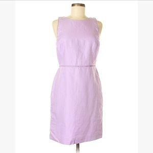 LOFT Lilac Linen Dress